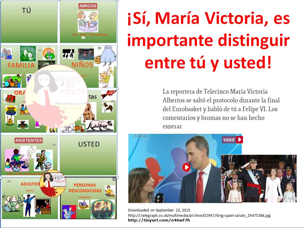 """Reporter uses 'tú"""" with the King of Spain and is mocked and chided by the media. Yes, students, learning when to use usted is important."""