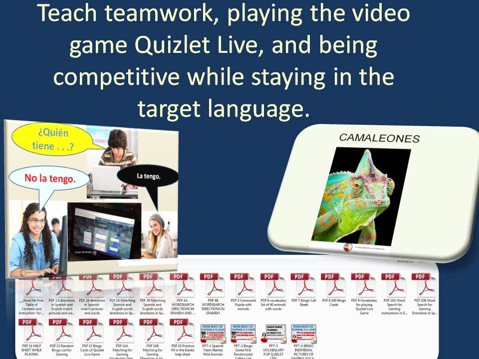 Students need direct instruction for logging in, forming teams, playing as a good team member, winning and losing.