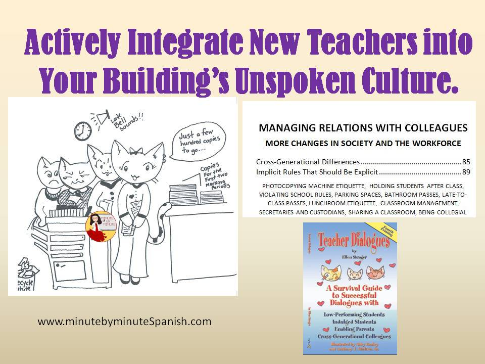 Awesome Book for New Teachers and Mentors and for the whole staff to actively retain new teachers.