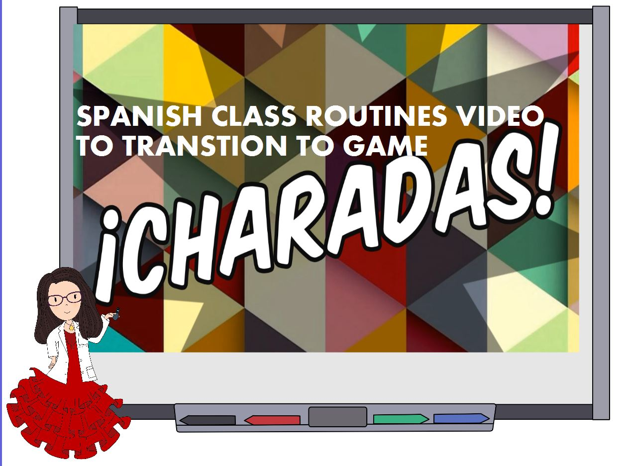 Lead into playing this review game in class with this video to get the students thinking in Spanish.
