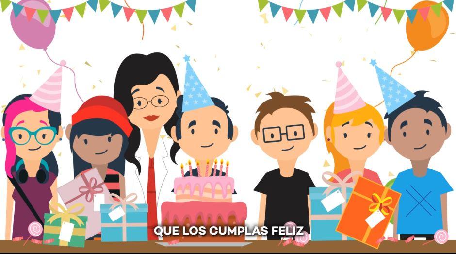 spanish birthday song 5 different versions cumpleaños feliz
