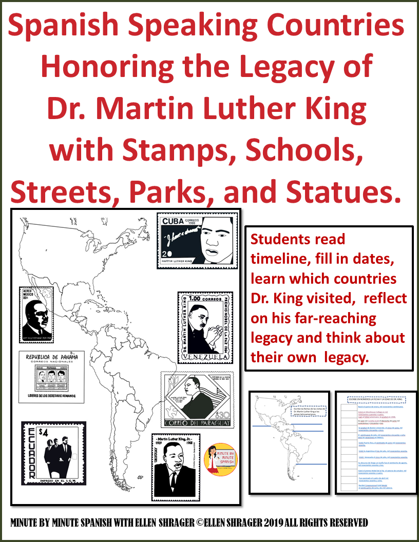 Dr. King's connection to Spanish Class