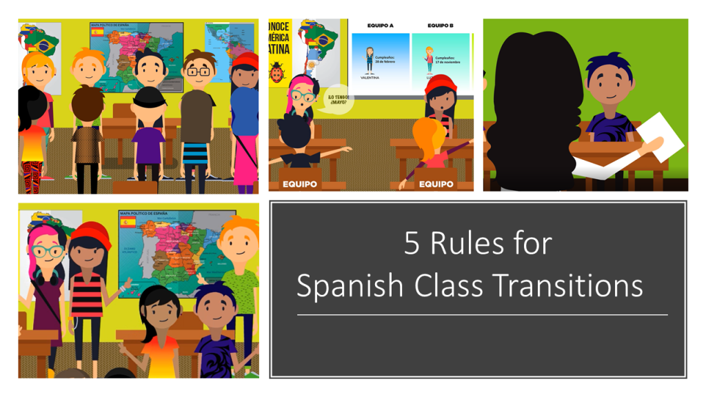 Use these 5 rules for any world language class.
