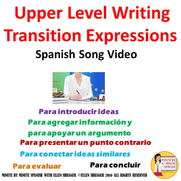 transition words to spanish
