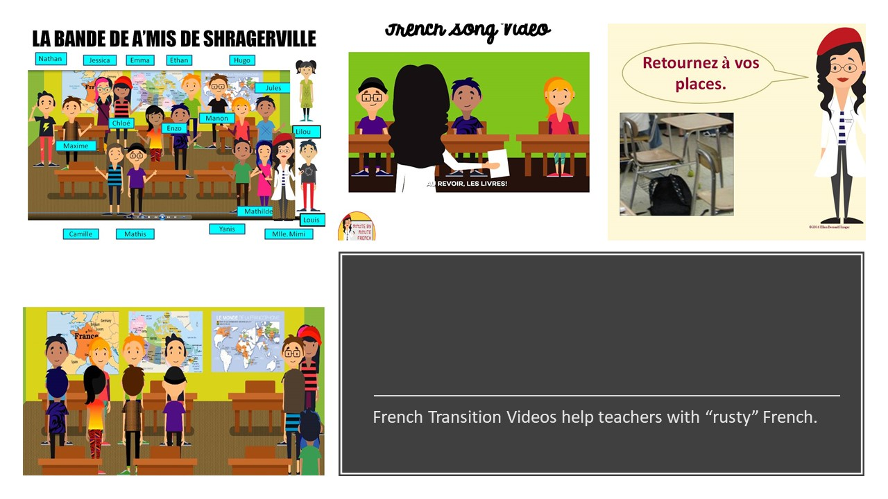 French Transition Videos cure rusty French teacher syndrome!